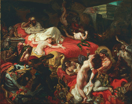 Ferdinand-Victor-Eugène_Delacroix,_French_-_The_Death_of_Sardanapalus_-_Google_Art_Project
