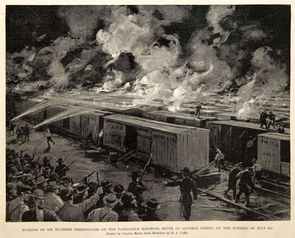 Harpers_Burning_Freight_Cars