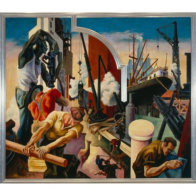 this-laborday-visit-thomas-hart-bentons-epic-ten-panel-mural-america-today-on-view-in-gallery