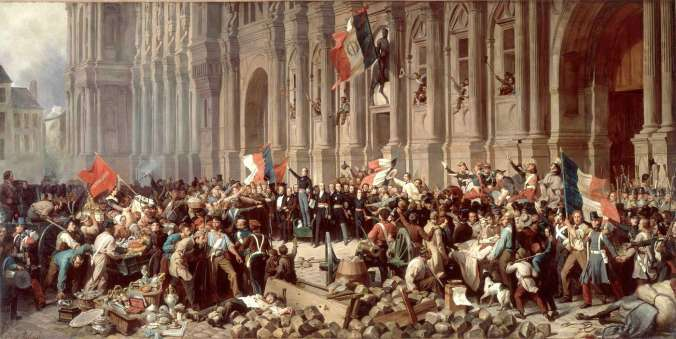 philippoteaux_lamartine_hoteldeville25fev1848
