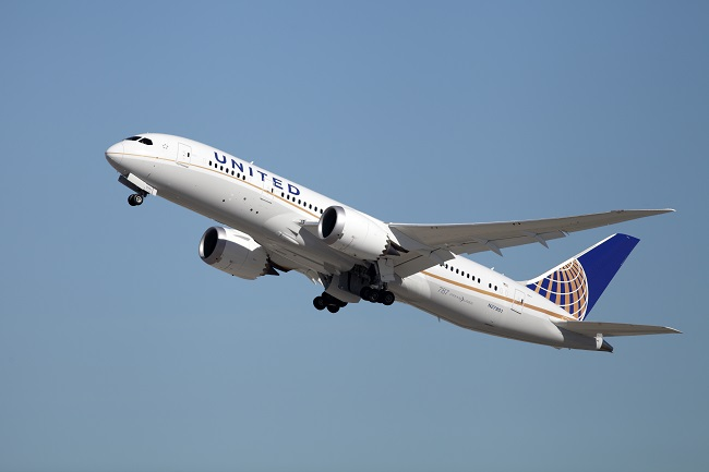 United Airlines Boeing 787-8 Dreamliner